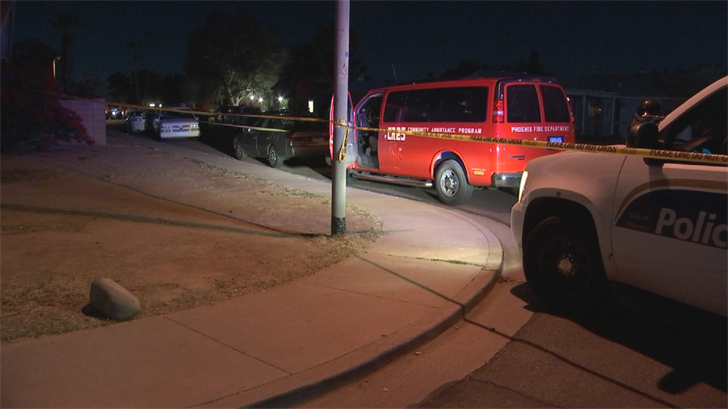 A 17-year-old boy suffered a life-threatening injury after he was shot Thursday night in west Phoenix, police said. (Source: 3TV/CBS 5)