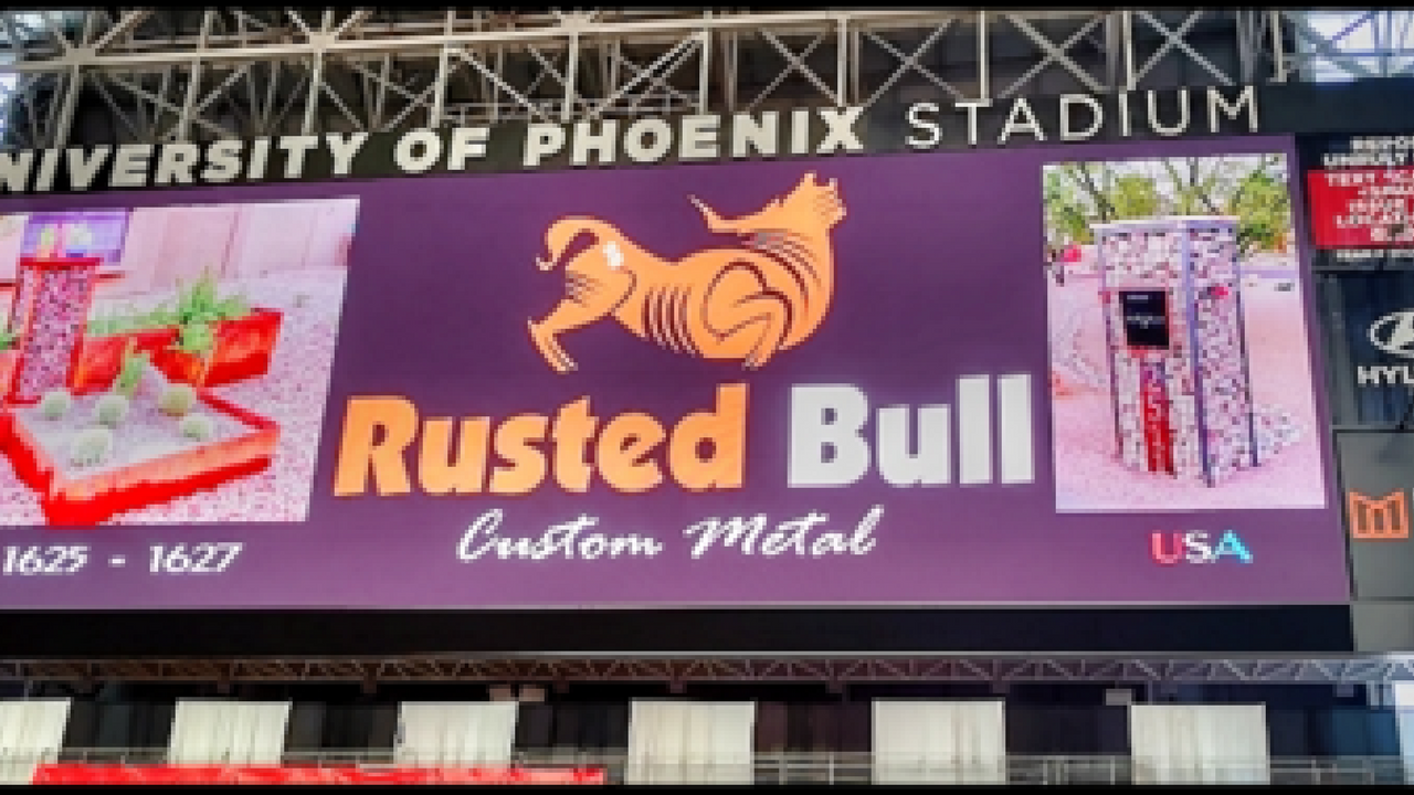 Scott and Marcus Gilbert spent years venturing down different career paths, but for the Phoenix-area father-son duo behind Rusted Bull Custom Metal, all roads led to their family garage. (Source: Rusted Bull)