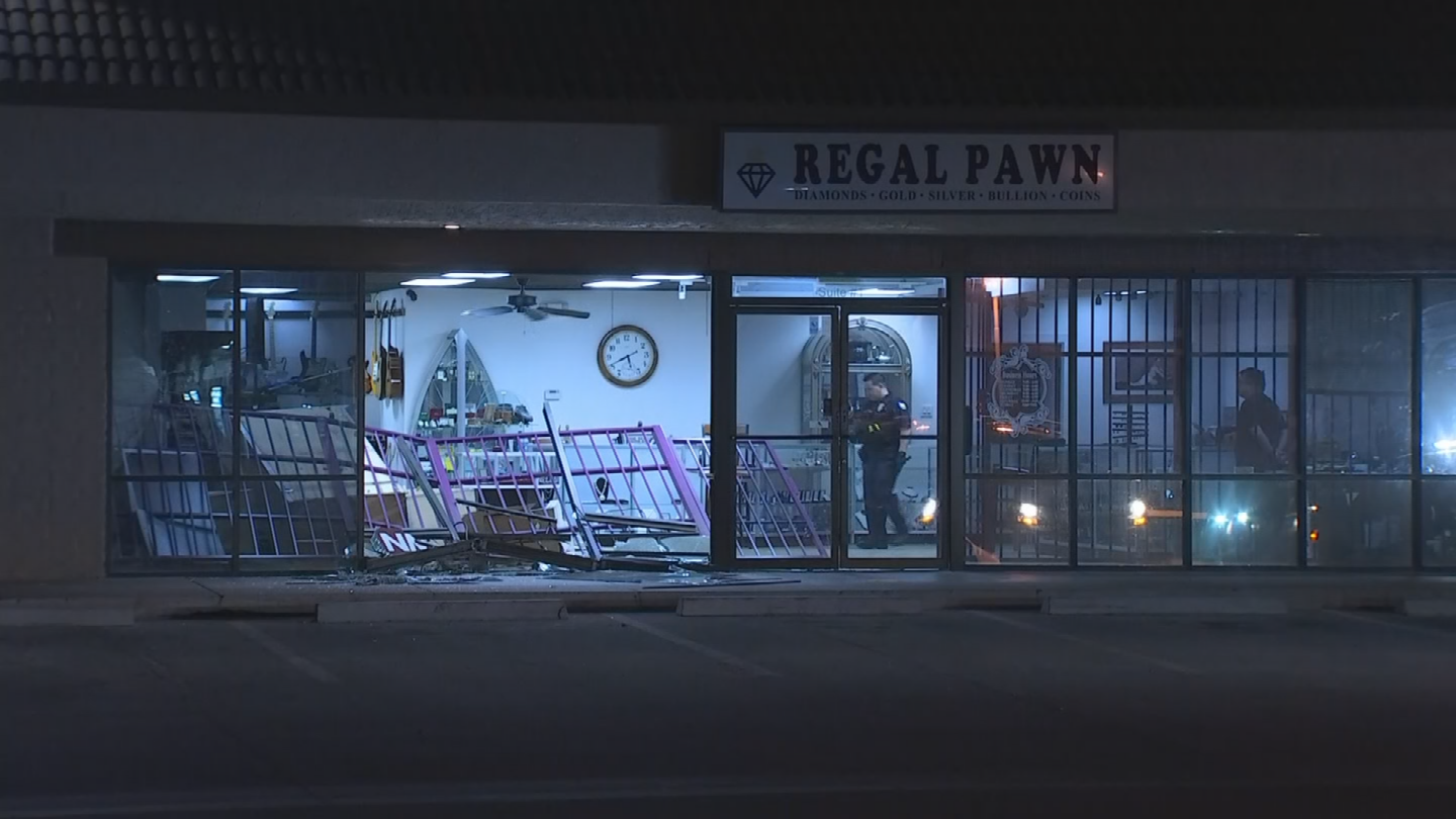 The Phoenix Police Department is searching for an unknown number of suspects after their attempted burglary was thwarted by a nearby business owner. (Source: 3TV/CBS 5)