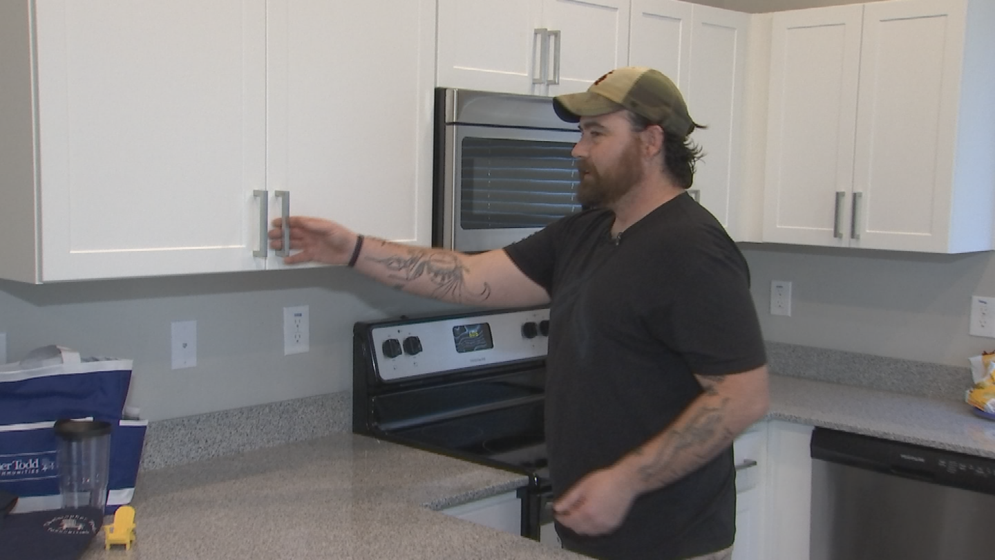 Jonathan Hancock received a house that is rent free in the west Valley. (Source: 3TV/CBS 5)