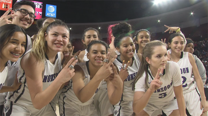 The Valley Vista girls' basketball team earned respect by winning another championship. (Source: 3TV/CBS 5)