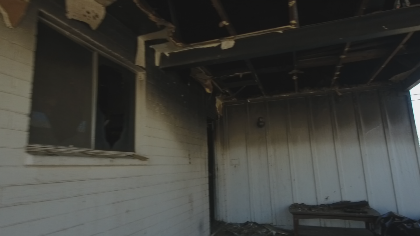 Authorities say the cause of the fire is under investigation. (Source: 3TV/CBS 5)