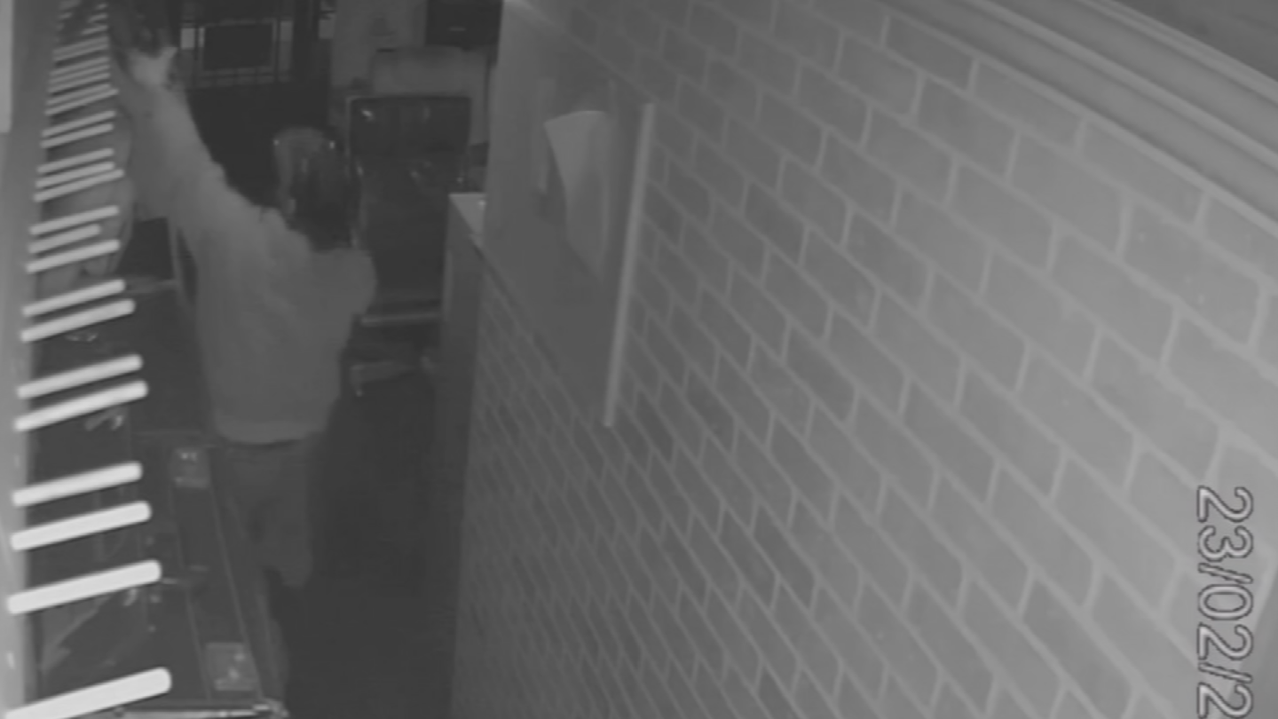 One of the suspects stole an AR-15. (Source: 3TV/CBS 5)