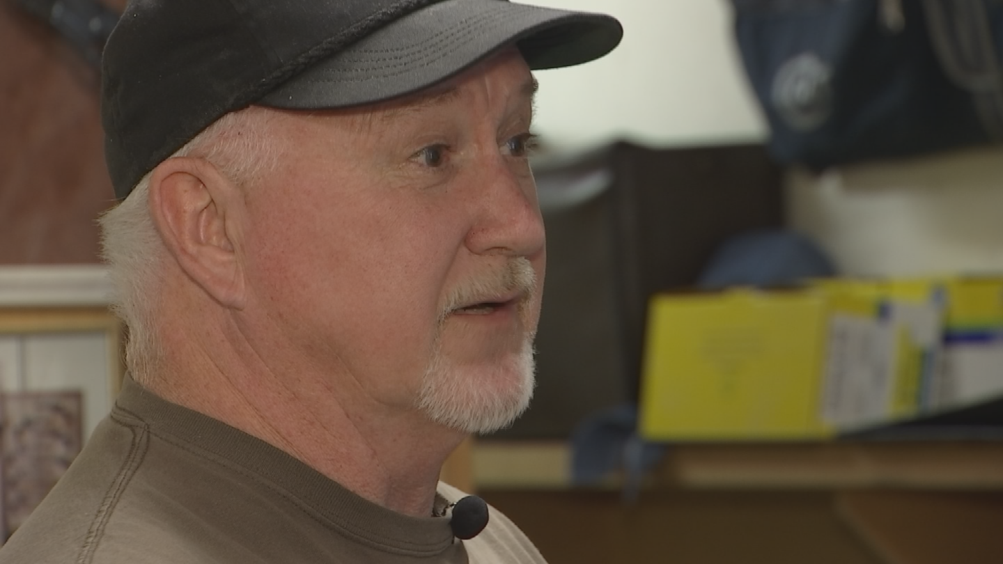 Bruce Kaufman says he's frustrated because it's been a week and police haven't yet contacted him back. (Source: 3TV/CBS 5)