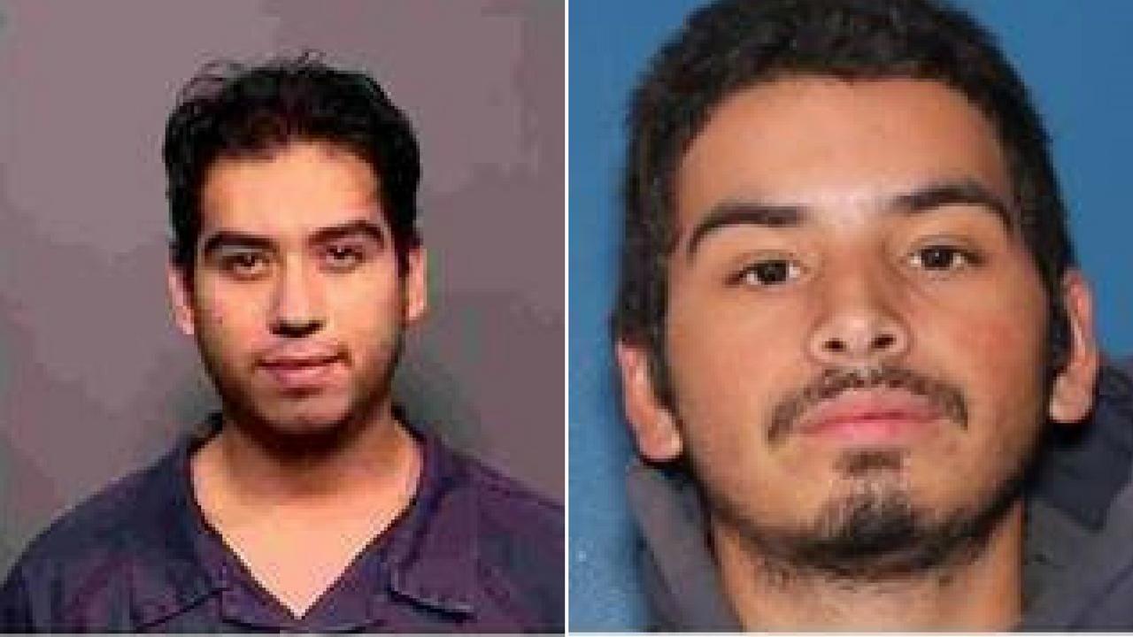 Abraham Puentes Ortiz, left, and Adonis Encinas Velarde, right. (Source: Flagstaff Police Department)