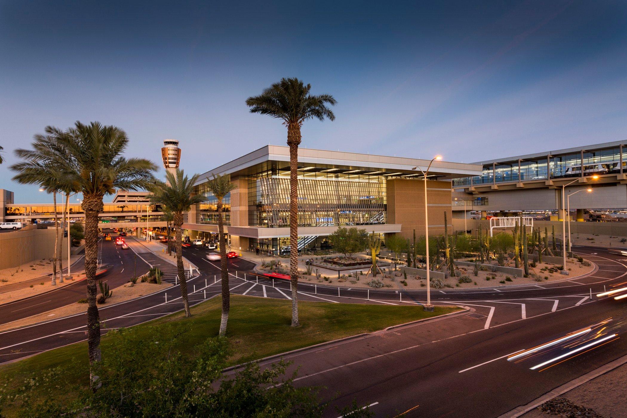 PHX Sky Harbor's Terminal 3. (Source: PHX Sky Harbor Airport)