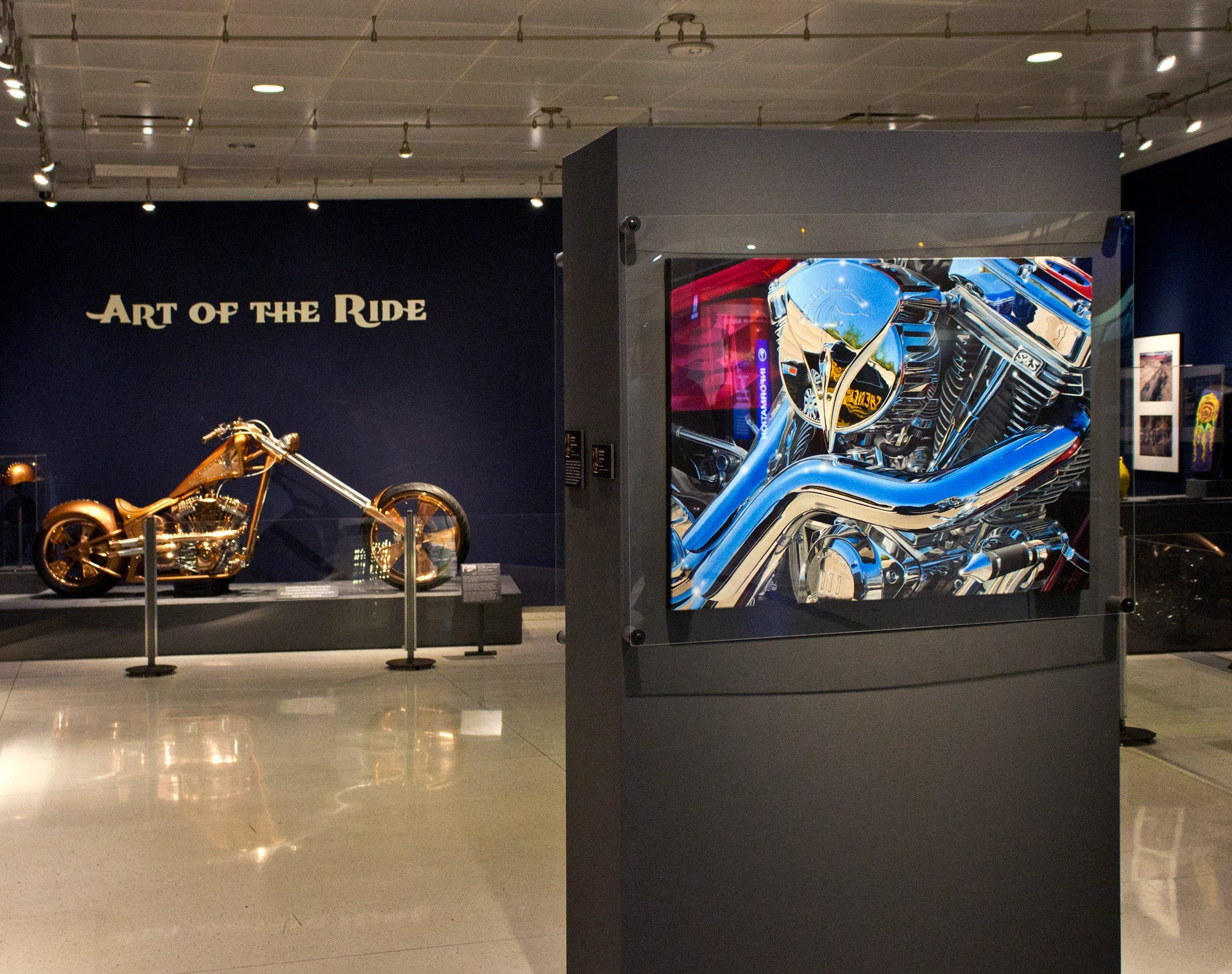 Art of the Ride exhibit at Sky Harbor. (Source: PHX Sky Harbor Airport)