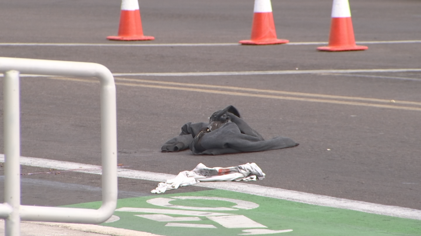 A 60-year-old man was found injured in the middle of the road. (Source: 3TV/CBS 5)