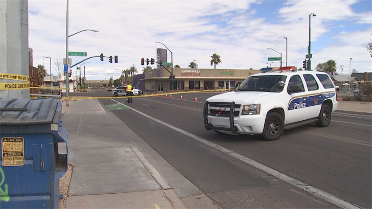 Police said it was a possible hit-and-run. (Source: 3TV/CBS 5)