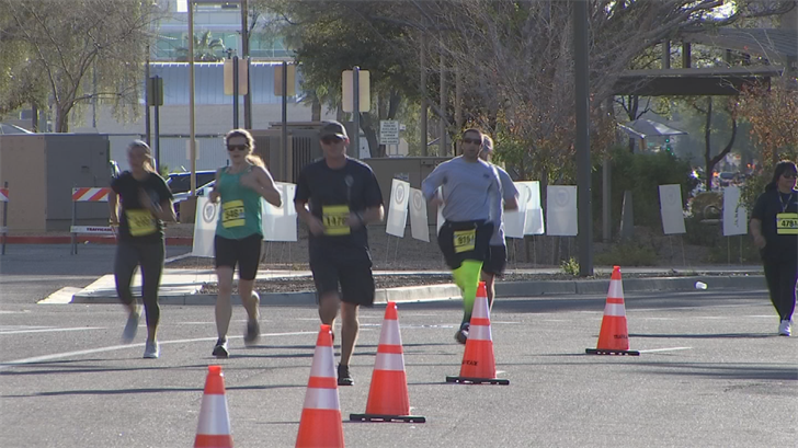 They laced up their shoes and participated in the 14th annual Fallen Officer Memorial 5K at Wesley Bolin Memorial Plaza. (Source: 3TV/CBS 5)