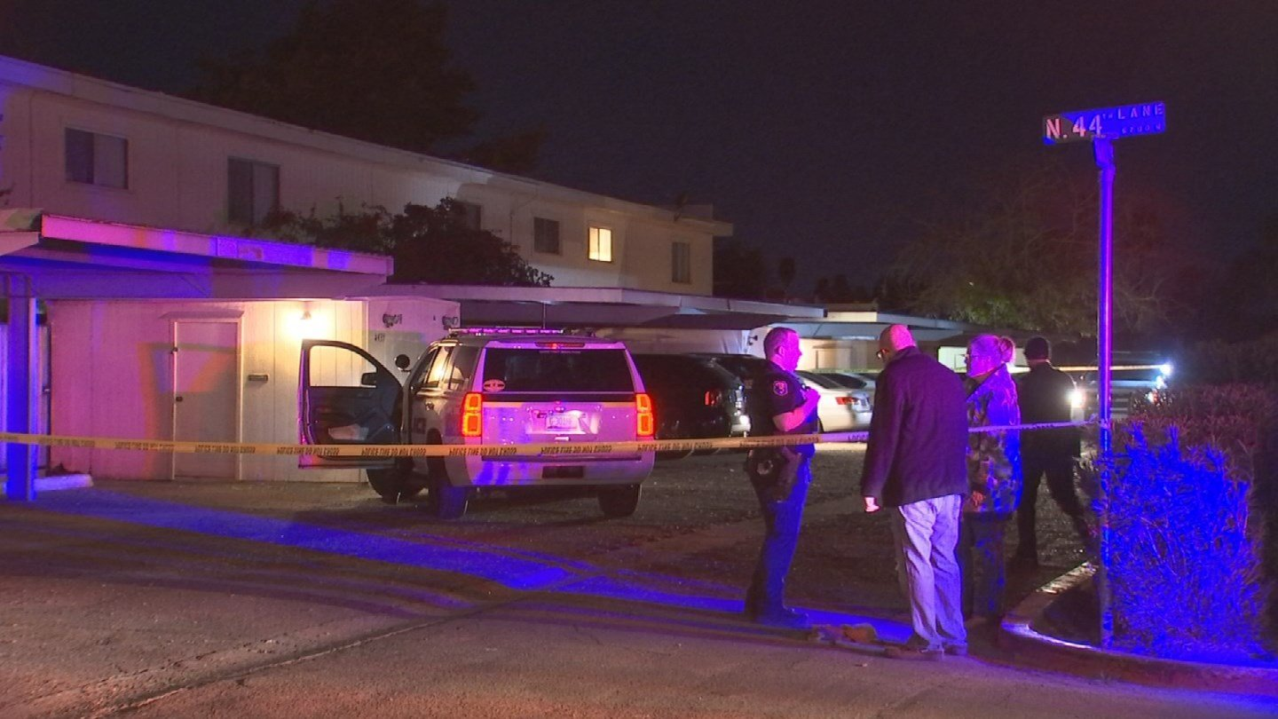 The Glendale Police Department is investigating a shooting that left a man in the hospital late Sunday night. (Source: 3TV/CBS 5)