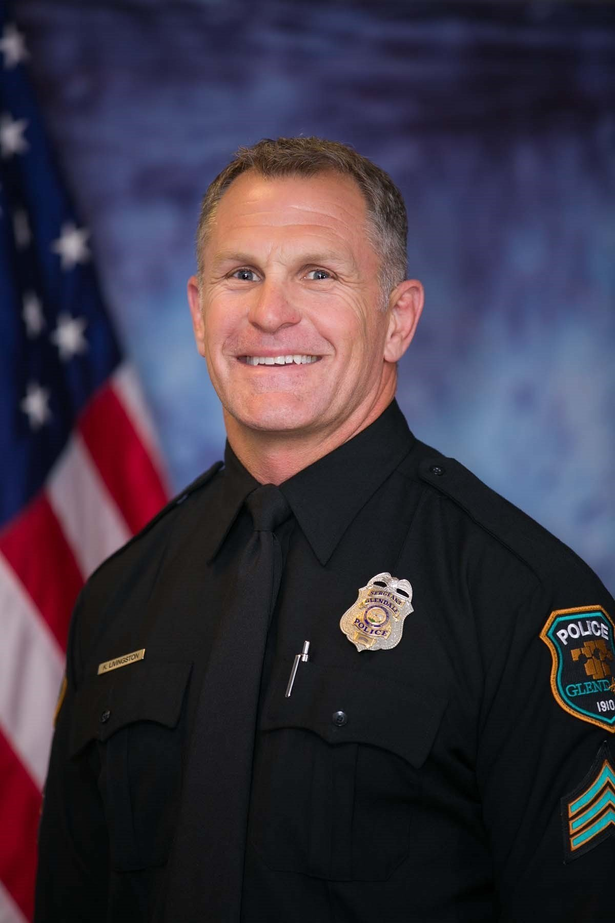 Glendale police identified the officer shot as Robert Livingston, a 23-year veteran with the department (Source: Glendale Police Department)