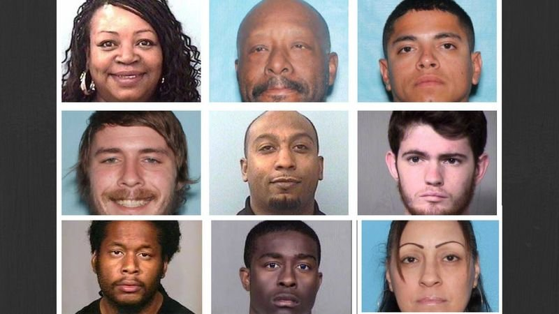 Photos of the 9 victims (Source: Phoenix Police Department)