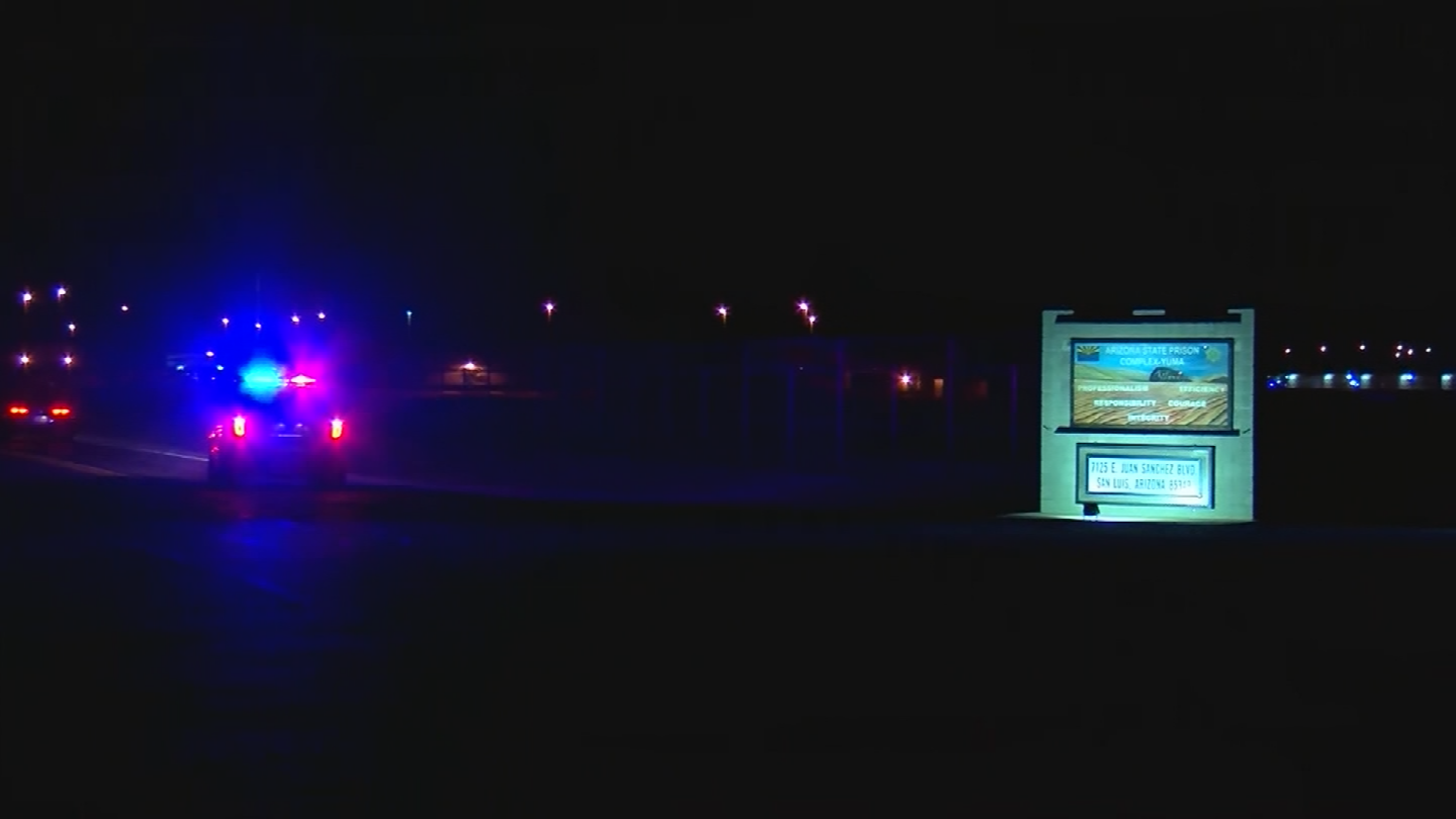 The man who died during a riot at a prison near Yuma was shot, investigators said. (Source: CBS News)