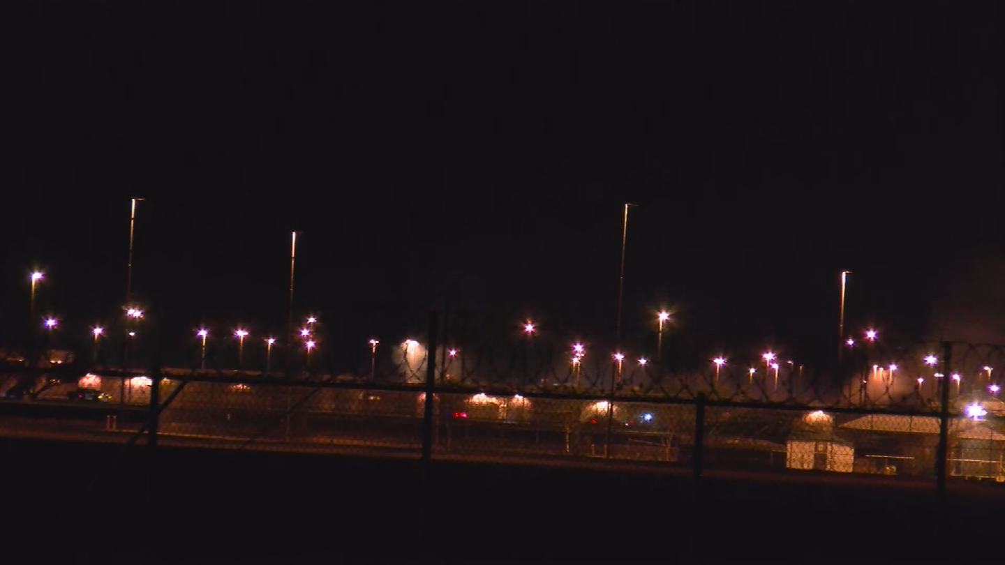 DOC officials say the disturbance began with an inmate being escorted across the recreation yard who appeared to be under the influence. (Source: CBS News)