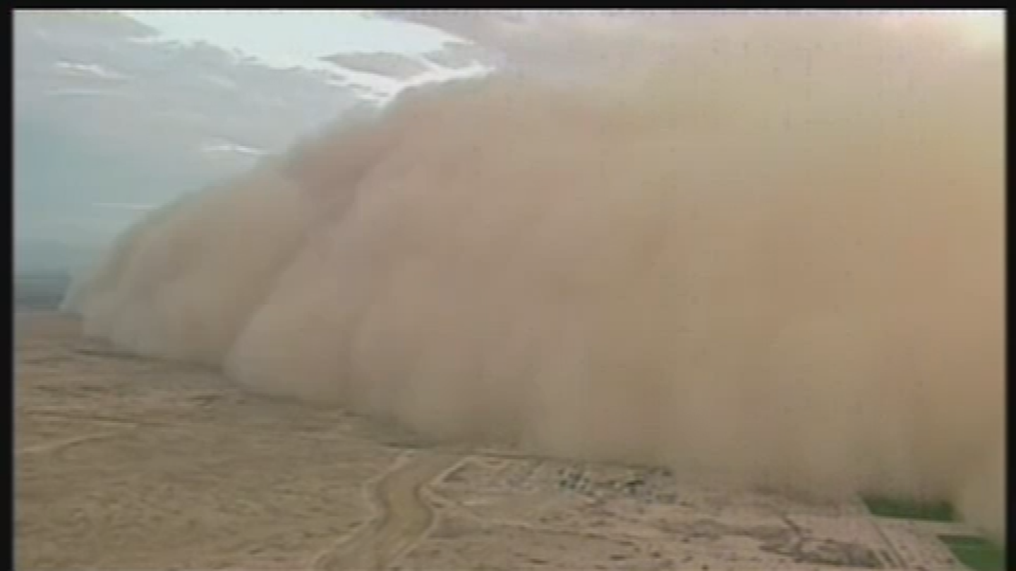 History shows there is a correlation between drought and powerful dust storms. (Source: 3TV/CBS 5)