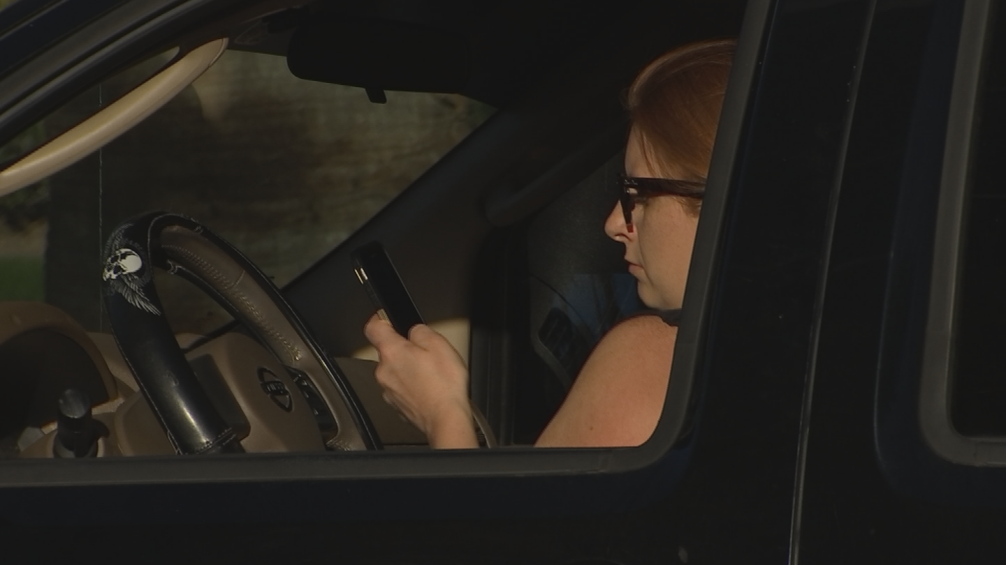Distracted driving could contribute to the rise of pedestrian deaths. (Source: 3TV/CBS 5)