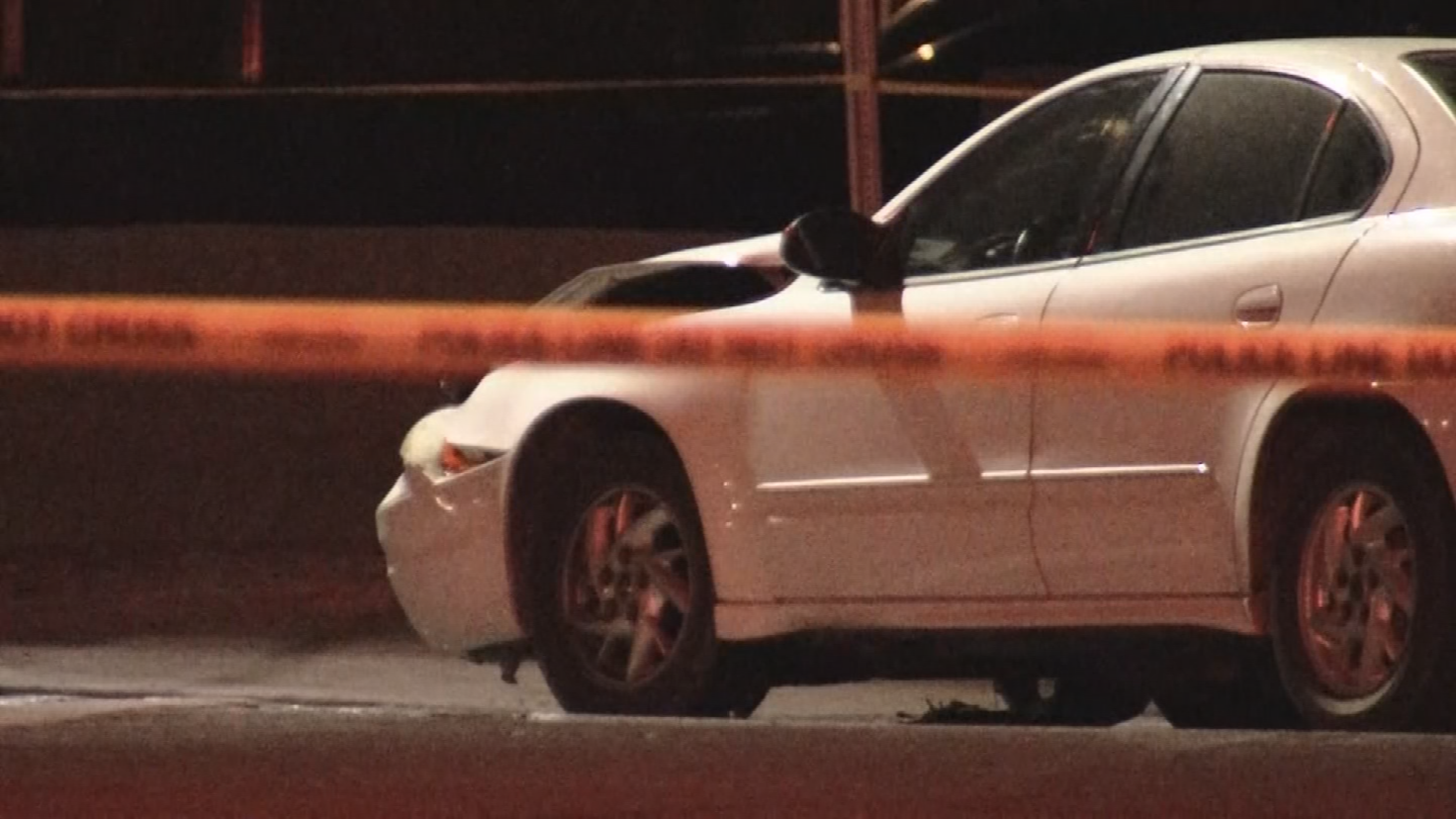 A motorcyclist is dead after a crash Monday night in west Phoenix. (Source: 3TV/CBS 5)