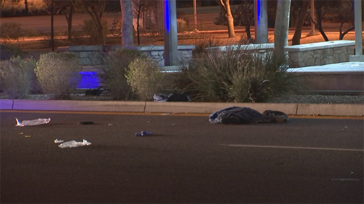 A woman was struck and killed in Phoenix just after midnight Tuesday. (Source: 3TV/CBS 5)
