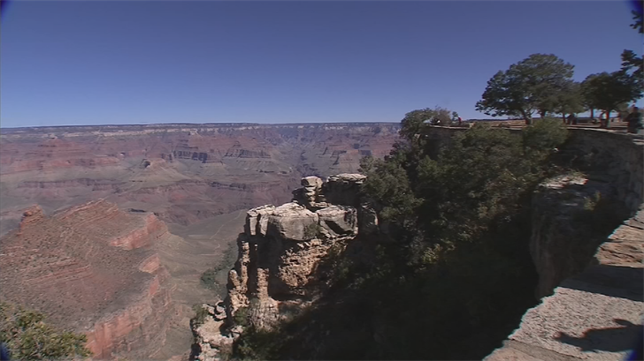 Monsoon rains are lifting the fire restrictions at the Grand Canyon. (Source: 3TV/CBS5)