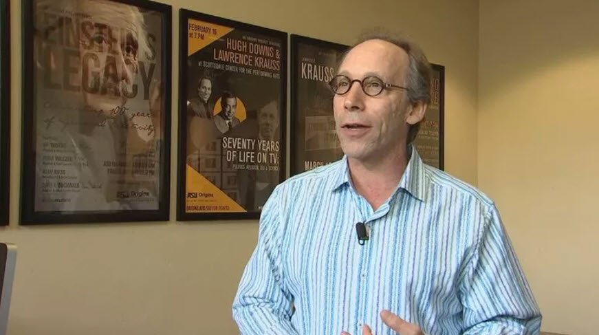 File photo of Arizona State University professor Lawrence Krauss. (Source: 3TV/CBS 5)