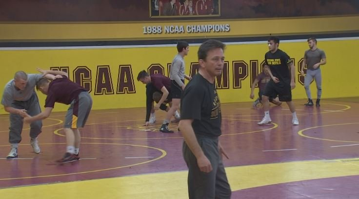 Zeke Jones #9 Sun Devils head to the NCAA Championships on March 15th in Cleveland. (Source: 3TV/CBS 5)