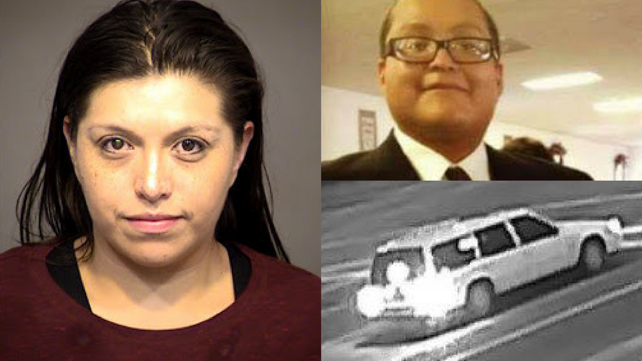 Felicia Marie Hernandez, 34, arrested in hit-and-run case that left William Hawkins dead. (Source: Mesa Police Dept.)