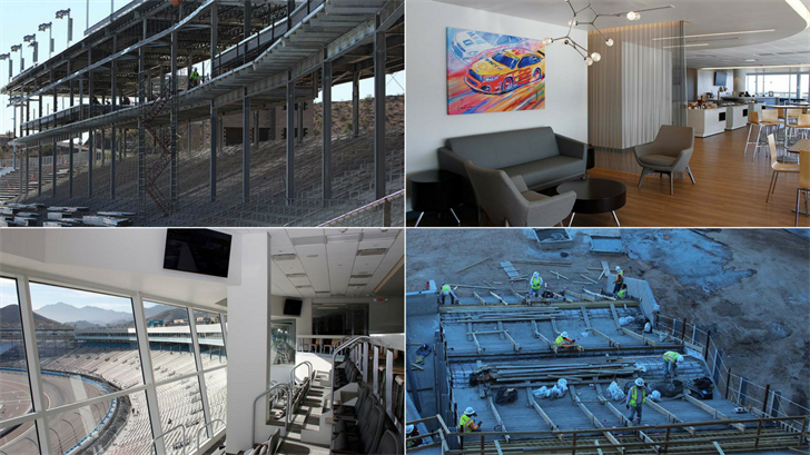 Spring Race Weekend is back at ISM Raceway, the racetrack formerly known as Phoenix Raceway, and there is plenty of new amenities awaiting race fans. (Sources: Michelle Minahen/Cronkite News and Phoenix Raceway)