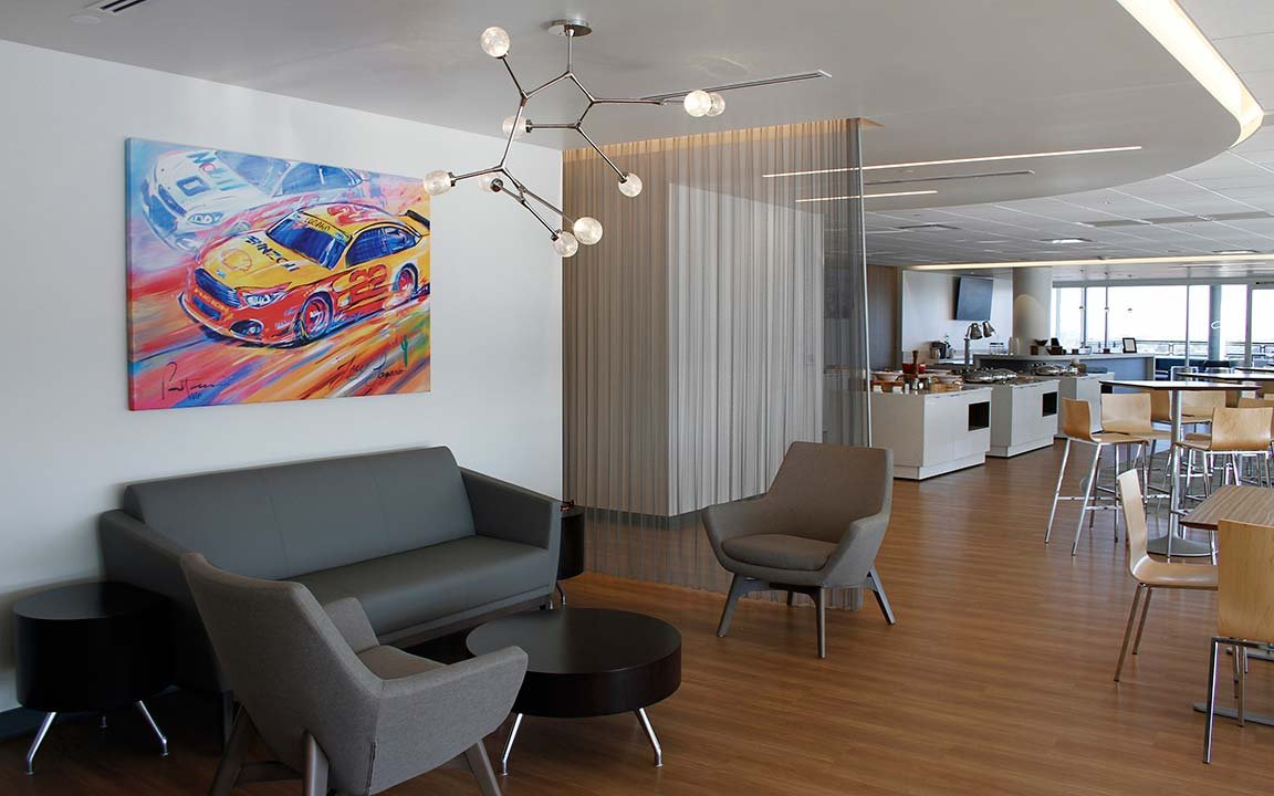 Curve is an all-new luxurious fan hospitality club that features state-of-the-art amenities and all the VIP comforts fans will enjoy. (Photo Courtesy of Phoenix Raceway)