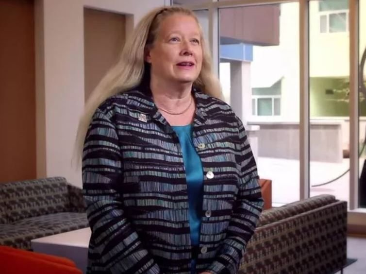 Dr. Patricia MacCorquodale (Source: YouTube/UA Honors)