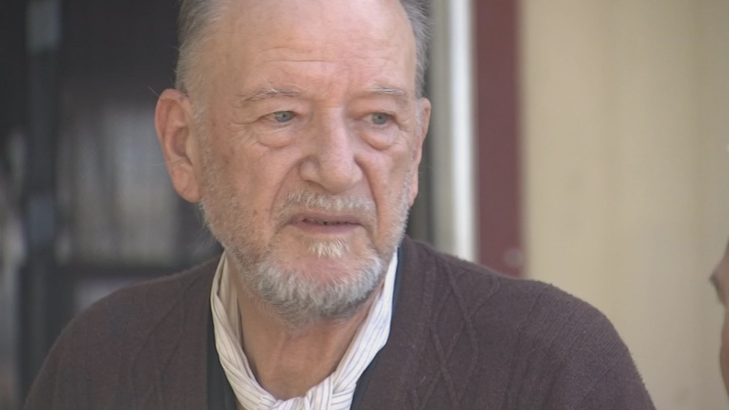 Ferdinando Petacci, 76, has called the mobile home park home for over 50 years. (Source: 3TV/CBS 5 News)