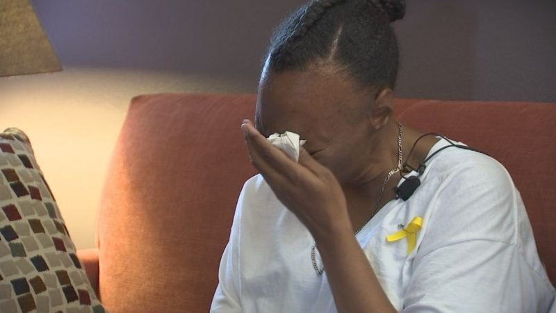 As the search for Jesse continued, Crystal Wilson, his adoptive mom, made a tearful appeal for her son to come home.