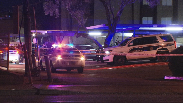 The Phoenix Police Department is investigating a shooting that left oneman dead and another in critical condition in Phoenix early Monday morning. (Source: 3TV/CBS 5)