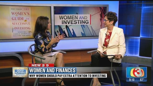 Financial expert Nancy Tengler sat down with our Olivia Fierro Monday morning. (Source: Good Morning Arizona)