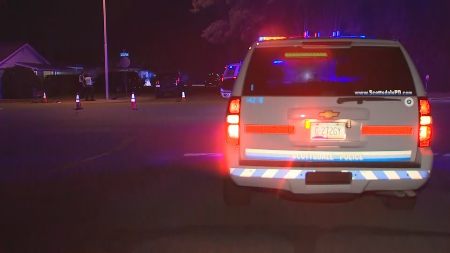 Scottsdale police have identified the victim of Monday night's fatal accident as Raymond Elsroad. (Source: 3TV/CBS 5)