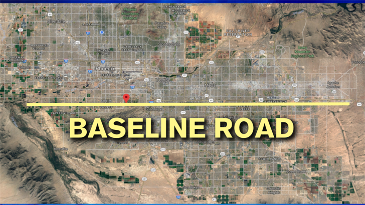 Baseline Road was a crucial part of surveying in Arizona. (Source: 3TV/CBS 5)