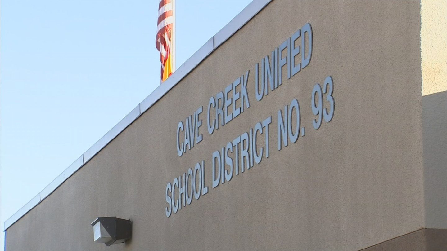 Last week he and at least one other person visited the Cave Creek Unified School District offices and scared a lot of people in the process. (Source: 3TV/CBS 5)