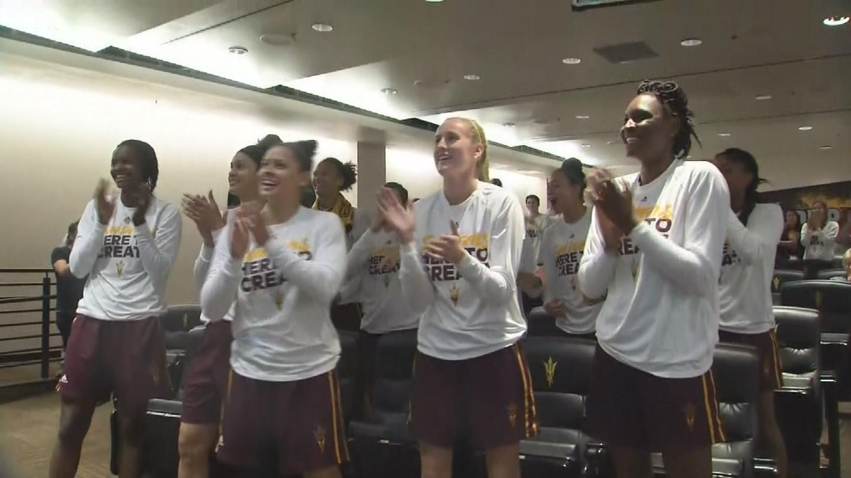 ASU woman's basketball team will make their 5th straight NCAA  tournament. (Source: 3TV/CBS 5 News)