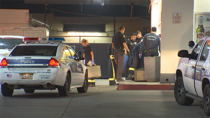 A woman is in a hospital after she was shot as she was walking to a business early Tuesday morning. (Source: 3TV/CBS 5)