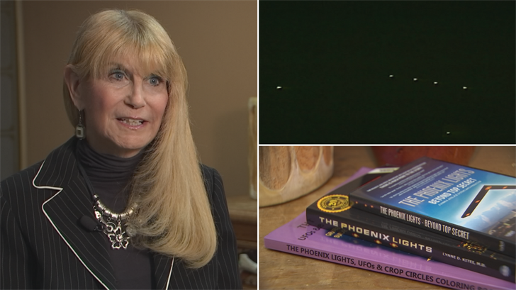 Dr. Lynne Kitei is behind a new documentary behind the Phoenix Lights. (Source: 3TV/CBS 5)