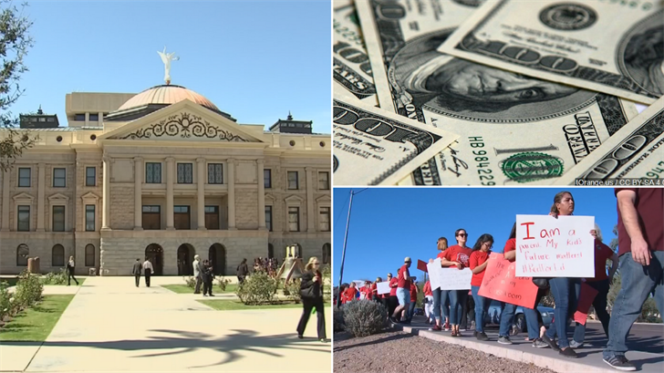 The state budget is expected to have an extra quarter billion dollars in the budget but it's unclear how much of that teachers will get. (Source: 3TV/CBS 5)