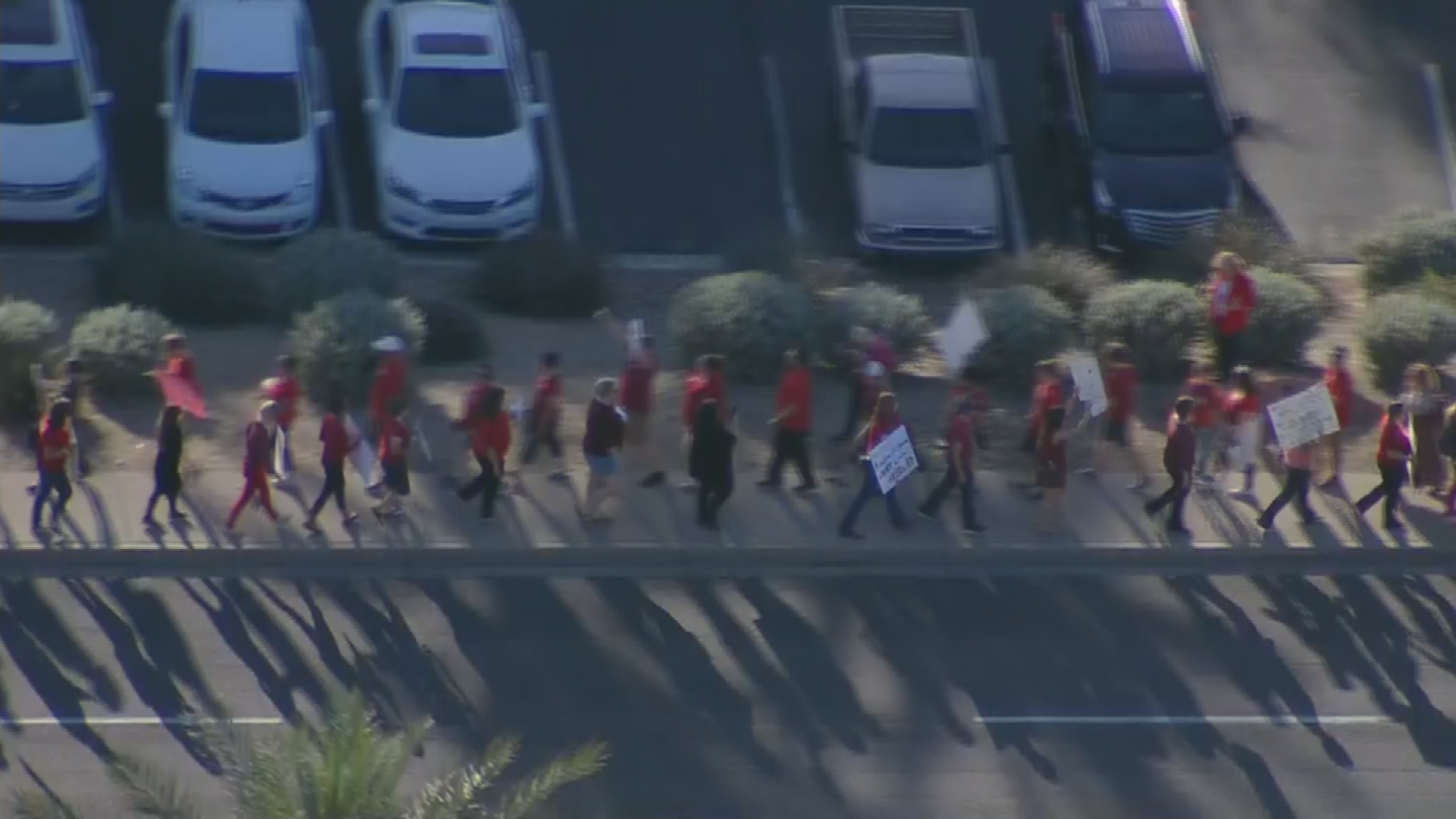 Some teachers say they could strike if they don't get a legitimate pay raise. (Source: 3TV/CBS 5)