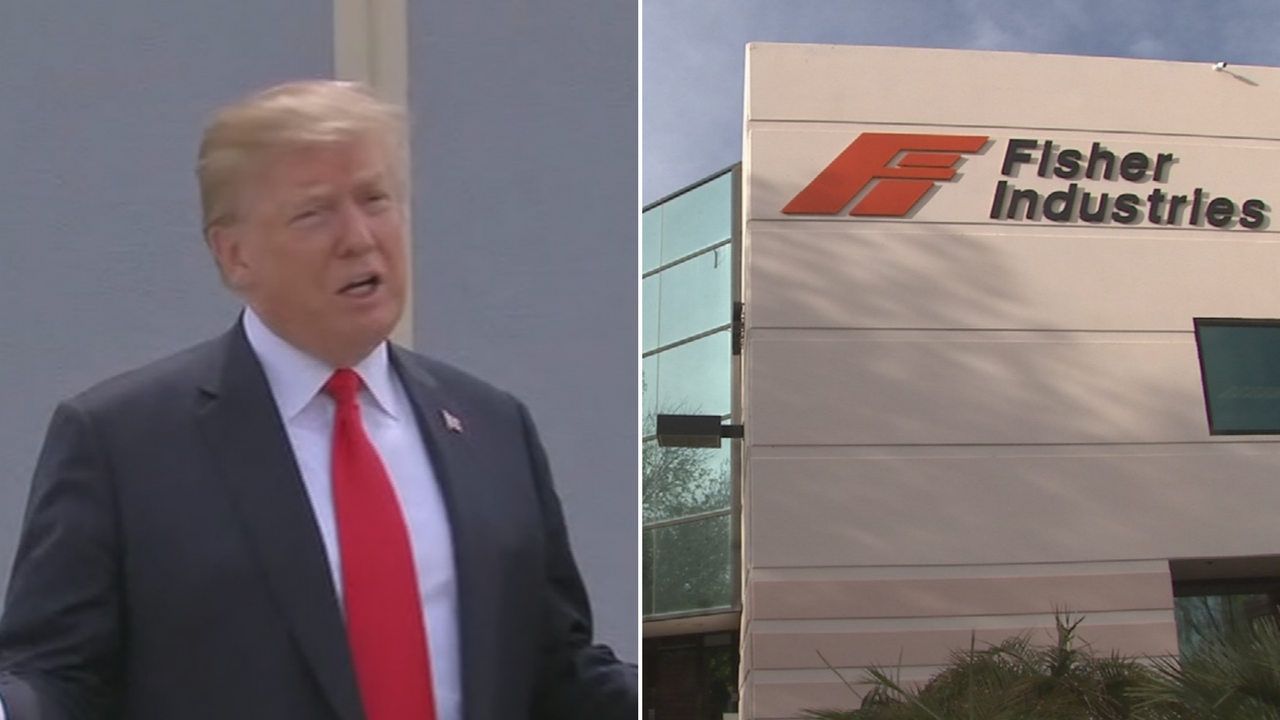 Trump says he prefers a see-through wall, which is not a characteristic of a prototype from a Tempe company. (Source: CNN/3TV/CBS 5)