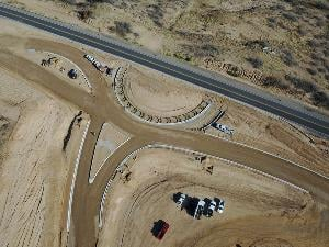 ADOT is adding seven modern roundabouts along nine miles of SR 260. (Source: ADOT)