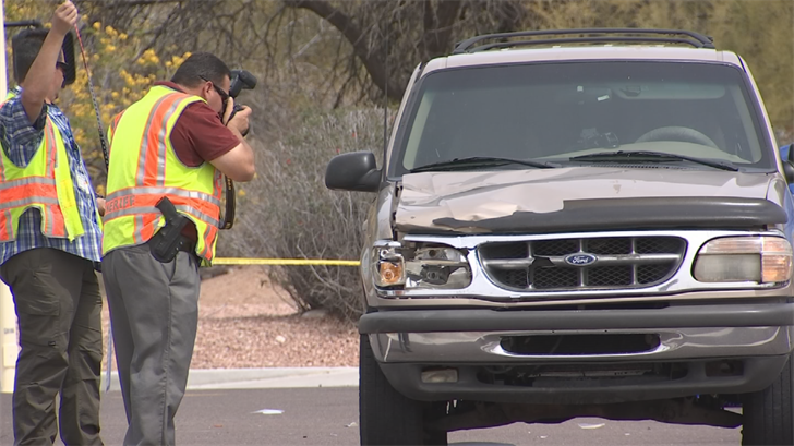 MCSO said Alex Bashaw was driving a 1998 gold Ford Explorer when he hit the two couples. (Source: 3TV/CBS 5)