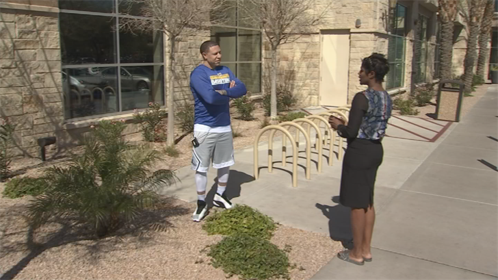 Bibby's job is his passion. He wants the kids to succeed on and off the court. (Source: 3TV/CBS 5)