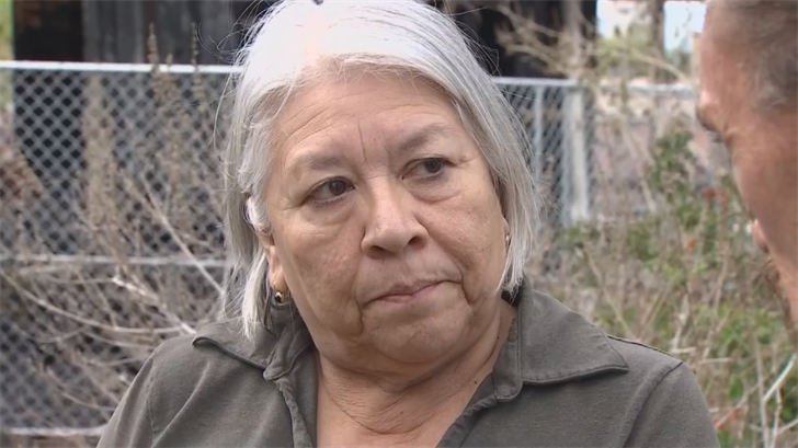 Linda Gonzalez said she spotted a man a couple of nights before trying to torch the vacant home. (Source: 3TV/CBS 5)