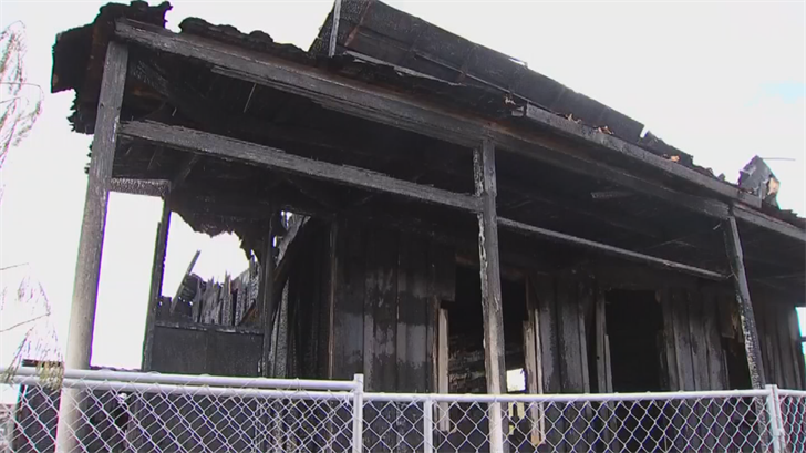 The home was destroyed. (Source: 3TV/CBS 5)