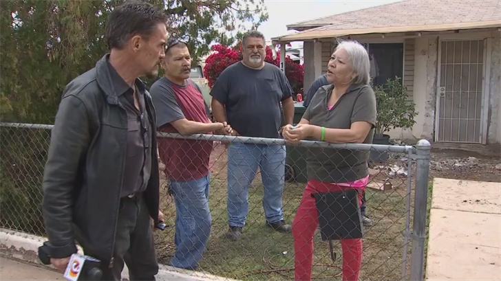 The Gonzalez family has to stay with relatives due to the damage to their house. (Source: 3TV/CBS 5)