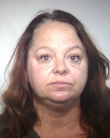 Elizabeth Dauenhauer, 51, arrested for third-degree burglary after she filmed herself trespassing and stealing from a Tempe mosque. (Source: Maricopa County Sheriff's Office)